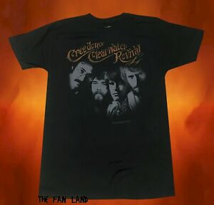 New Creedence Clearwater Revival CCR Black Vintage Mens T Shirt $22.95