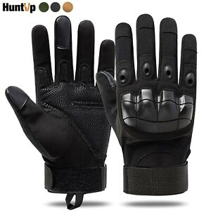Tactical Gloves Hard Knuckle Full Finger for Paintball Airsoft Hunting Size L XL