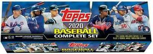 2020 Topps Baseball Complete Set MLB COMPLETE SET New Factory Sealed= 705 Card $59.96