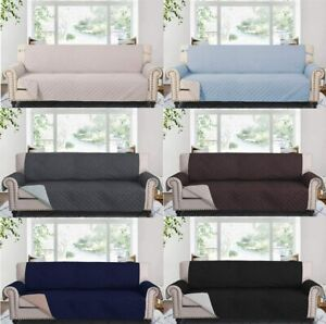 78quot; Reversible Sofa Couch Cover Throw Furniture Protector Extra Wide Slipcover $32.29