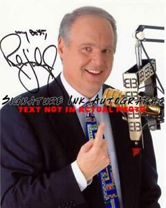 RUSH LIMBAUGH Signed 8x10 Autographed Photo reprint $6.95