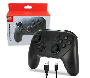 Wireless Pro Controller for Nintendo Switch Custom Made Black Free Shipping