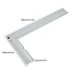 Right Angle Ruler 90 Degree Ruler Aluminum Alloy for Carpentry Woodworking $11.46