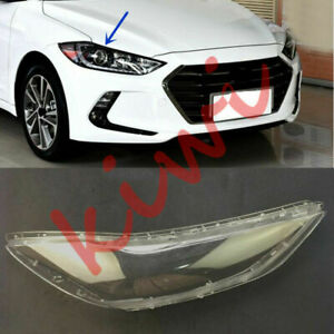 Replace Right Side Headlight Cover Clear PCGlue For Hyundai Elantra 2017 18 YQ $53.02