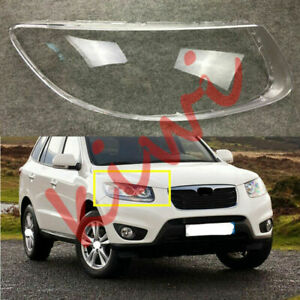 For Hyundai Santa Fe 2007 2012 Replace Right Side Headlight Cover Clear PCGlue $48.60