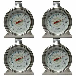Tru Temp Refrigerator Freezer Thermometer 4 Pack $11.94