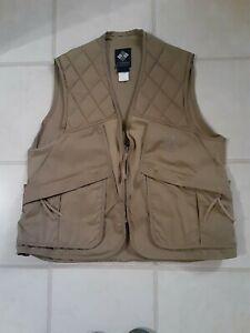 Columbia Hunting Vest Mens L Duck Pheasant Clay Great Condition. Large