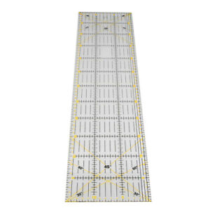 Patchwork Ruler Thick Large Rectangular Sewing Ruler for Cutting Measuring C $17.85