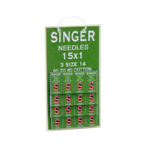 Dolls House Miniature 1 12th Scale Singer Sewing Needles Display Card GBP 3.20