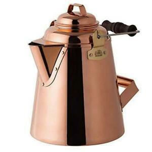 NEW Fireside 12113 GRANDMA#x27;S Copper Kettle Small 3.3L for Camping made in JAPAN