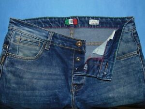 Men#x27;s Armani Jeans J08 Slim Fit Button Fly Actual 34 X 33 1 2