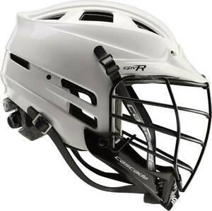 R Lacrosse Cascade Helmet Cpv M White Black Size S L Adjustable Fit Xs Spr Chin $185.95