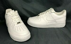 Nike Mens Air Force 1 07 Fashion Sneakers White Size 13 DISPLAY MODEL $59.95