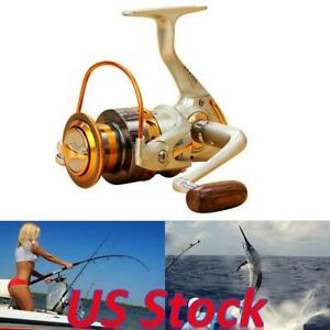 2BB Ball Bearing Left right Fishing Spinning Reel Interchangeable Saltwater US