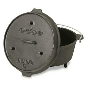 Camp Chef Cast Iron Deluxe Dutch Oven