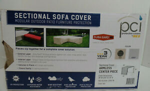 Sectional Cover Sofa Waterproof Outdoor Furniture Armless Center $44.95