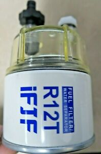R12T For Marine Spin on Fuel Filter water Separator 120AT New Open Box $15.99