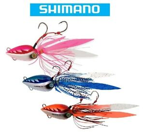 Shimano Lucanus Flat Jigs Saltwater Rock Cod Fishing Lures Select Size Color