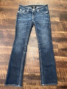 BIG STAR LIV BOOT DESIGNER JEANS WOMENS SIZE 26 L Only Worn Couple Times