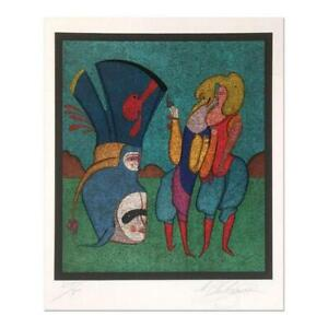 Mihail Chemiakin Carnival Series: quot;Untitled 7quot; Limited $2000.00