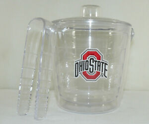 Ohio State Ice Holder Insulator Clear Ice Holder Cooler Ice Chest Football