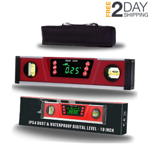 Digital Torpedo Level and Protractor Bright LED Display Electronic Angle Finder $60.95