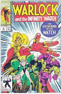 MARVEL COMIC #2 WARLOCK AND THE INFINITY WATCH #94548 3 BR2 $1.35