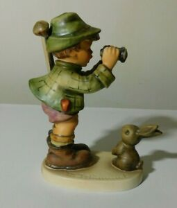 HUMMEL #307 quot;GOOD HUNTINGquot; FIGURINE TMK5 WITH MINOR CRAZING TO BASE ONLY