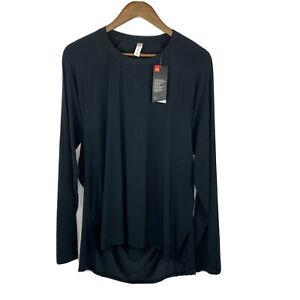 New Under Armour Xl Loose Fit Slit Back Long Sleeve Shirt $23.71
