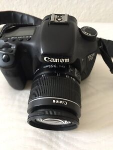 Canon 7D With 18 55mm