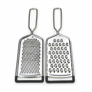 RSVP Endurance 2 Piece 18 8 Stainless Steel Cheese Grater Set $14.06