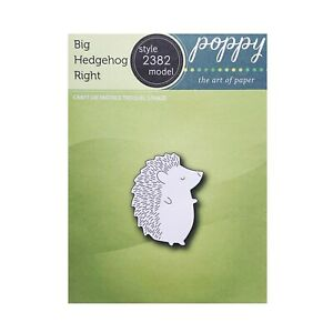 Big Hedgehog Right Metal Die Cut Stencil Poppystamps Craft Cutting Dies Animals $7.97