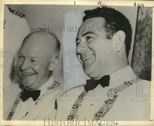 1959 Press Photo Presidents Dwight Eisenhower amp; Jose Lemus at Panama Conference