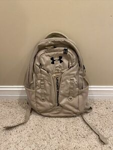 Under Armour Tan Backpack Multiple Pockets $30.00