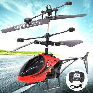 Kids Children RC Helicopter Remote Control Drone Induction Flying Plane Toy Gift