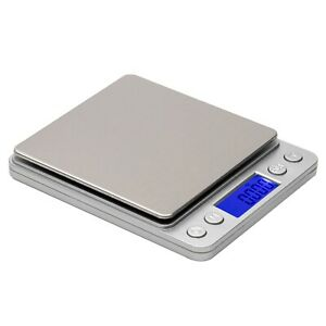 Digital Scale 3000g x 0.1g Jewelry Gold Silver Coin Gram Pocket Size Herb Grain $11.59