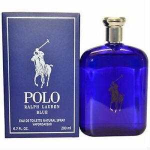 Ralph Polo Blue by Lauren 6.7 oz EDT Cologne for Men New In Box $29.99