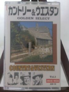 Golden Select Series Country Western Vol.3 Cz00844 Cassette Tape $63.78