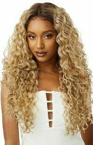 NIKITA Outre Synthetic Pre Plucked I Part Swiss Lace Front Wig $34.99