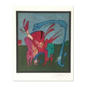 Mihail Chemiakin Carnival Series: quot;Untitled 11quot; $2000.00