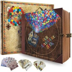 Our Adventure Book DIY Travel Photo Memory Album Journal Writing Gift 146 pages $59.99