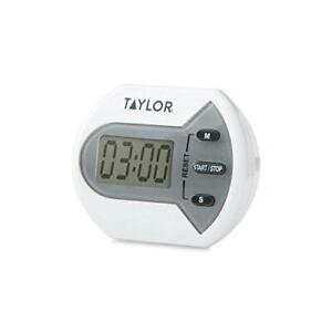 Taylor Precision Products Digital Timer Counts Up and Down for School Learning