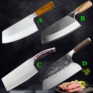 Hunters Serbian Forged Stainless Steel Chef Knife Kitchen Butcher Chopping Meat $32.99