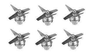 6 pack DRY Blade Fit For VITAMIX Blender Replacement Parts Fit 6432 oz Standard