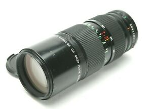 Canon Manual Focus Zoom FD 4 80 200mm With Two Rings For T90 F 1 F 1n amp; A 1.
