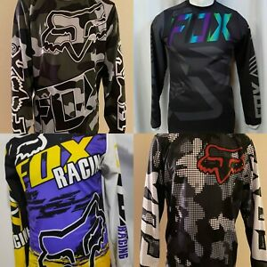 NEW FOX Racing Jersey Long Shirt Mens Motocross MX ATV BMX MTB Dirt Bike $24.99