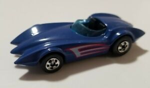 History of Hot Wheels Second Wind FAO SCHWARZ Exclusive 7K Blue India Loose $21.99