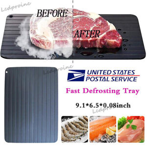 Fast Defrosting Tray Rapid Thawing Board Safe Defrost Plate Thaw Frozen Food US $9.55