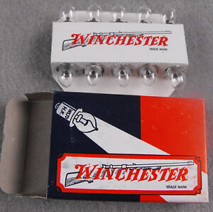 LOT OF 10 WINCHESTER PR3 3.6V .5A MINIATURE LIGHT BULB LAMPS FOR FLASHLIGHTS NOS $12.00