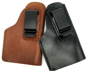 Right Hand Leather Inside Pants IWB Holster for AUTOS with LASER Choose $24.30